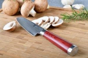 Damast Küchenmesser mehrere Lagen Damaststahl für besondere Schärfe