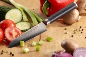 Damaszener Küchenmesser mehrere Lagen Damaststahl