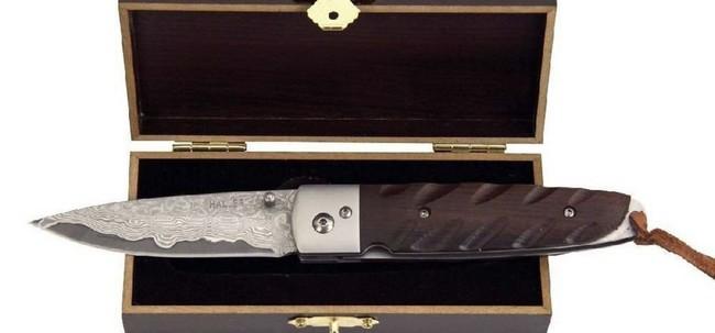Haller-Damast-Taschenmesser