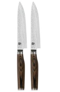 KAI Küchenmesser SHUN PREMIER Tim Mälzer Serie Steakmesserset 2 Stück TDM-1711, TDMS-400
