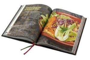 Tim Mälzer Damastmesser Set mit Kochbuch und Schleifstein - lecker Gerichte kochen einfach gemacht