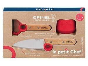 Opinel Le petit Chef Kinder-Küchenmesser-Set 3-teilig