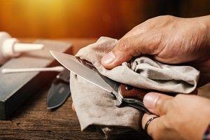 Taschnemesser richtig pflegen und säubern