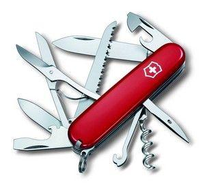 Victorinox schweizer Taschenmesser Huntsman in rot