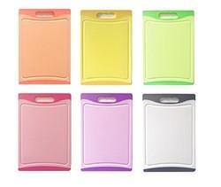 fr hst cksbrettchen set 6 teilig verschiedene farben. Black Bedroom Furniture Sets. Home Design Ideas